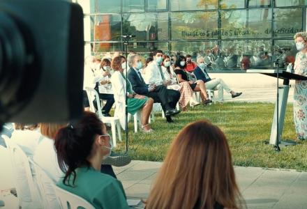 Vídeo resumen del concierto ofrecido por la Joven Orquesta Sinfónico de Granada en el hospital San Cecilio