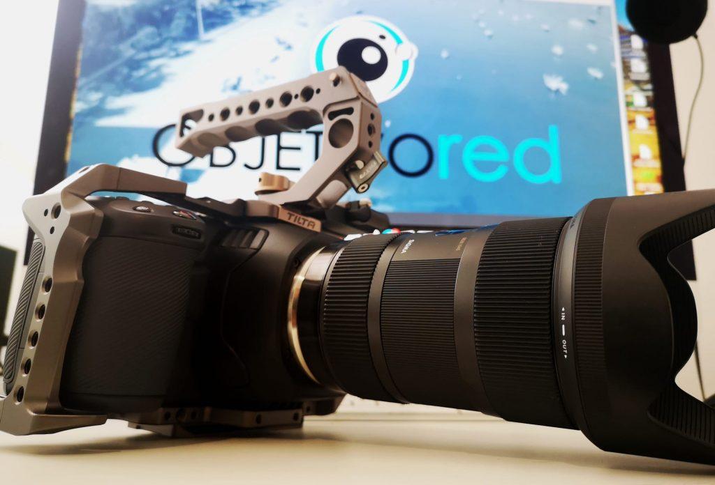 Producción audiovisual en formato cine digital 6k
